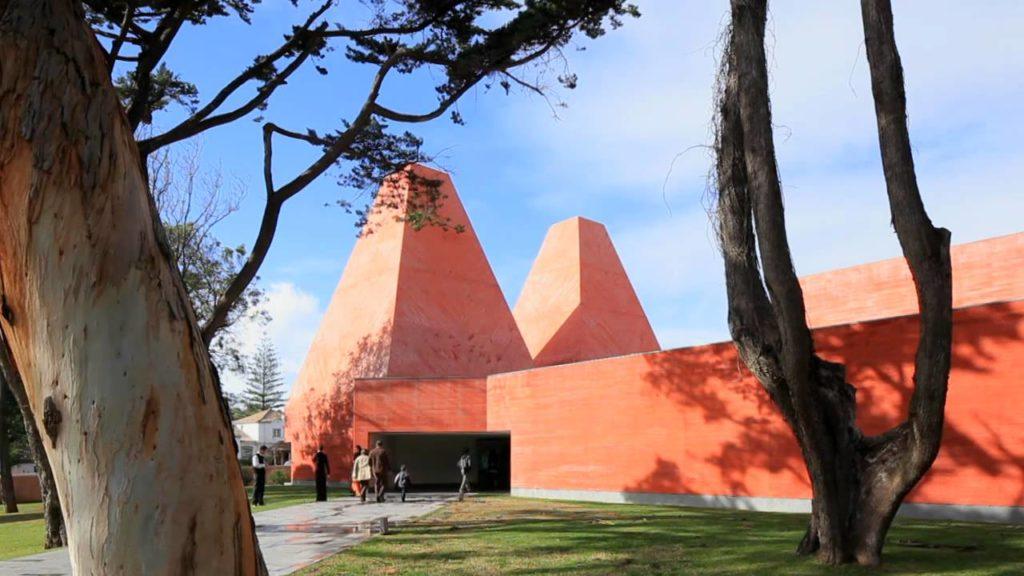concreto pigmentado museu